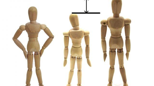 中3男子 身長が低い